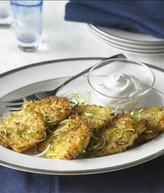Take a bite out of Michelle Bernstein's Scallion Potato Pancakes