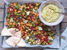 Vekemeny 8 - Kvardagsmat Hummus, Sashimi, Enchiladas, Granola, Potato Salad, Spicy, Lime, Fruit, Ethnic Recipes