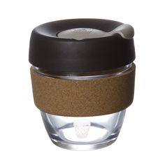 KeepCup's Brew series are made of durable borosilicate glass. This is a cup you'll want to take everywhere with you! Coffee Shop, Coffee Cups, Coffee Equipment, Reusable Coffee Cup, How To Make Drinks, Travel Cup, Cork, Brewing, Mugs
