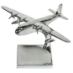 Aluminium Sea Plane Large With Tray 50 X 39 X 28 Cm