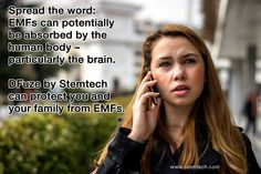 Learn more about the dangers of EMFs and how D-Fuze by Stemtech can protect you http://stemtech.com/US/D-fuze.aspx