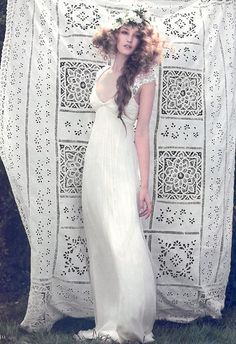 Hippie Bohemian Wedding Dress Los Angeles Lace Photo Boho Bride