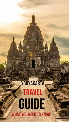 There are over 60 articles on Discover Your Indonesia about Yogyakarta. This guide links to articles covering transportation, accommodation, things to see, what to do, sample itineraries and where to eat... Basically everything you need to know for arranging a trip to Yogyakarta :)
