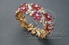 Diamond Bangle   Tibarumal Jewels   Jewellers of Gems, Pearls, Diamonds, and Precious Stones