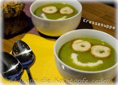 Kressesuppe #frankreich #suppe  #franzoesisch #kresse  #kartoffeln #rezept #winter #wenn die kochtoepfe reden