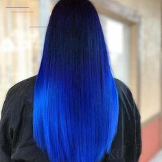 45 Simple and Easy Hairstyles for Straight Hair hairstyles, hairstyles for mediu. - 45 Simple and Easy Hairstyles for Straight Hair hairstyles, hairstyles for medium length hair, hair - Brown Ombre Hair, Purple Hair, Blue Hombre Hair, Blue Hair Colors, Bright Blue Hair, Ombre Hair Color, Cool Hair Color, Hair Colour, Easy Hairstyles