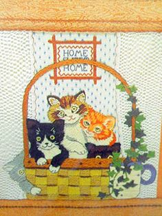 New Sunset Sitchery Kittens in the Window Embroidery Kit Diane Brakefield Designer 11 x 14 inch. Sunet http://www.amazon.com/dp/B018OGTZPM/ref=cm_sw_r_pi_dp_qe3Awb1YQ8TZW