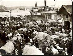 Balkan Göçmenleri Sirkeci'de - 1912