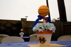 basketball centerpeice
