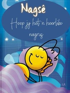 Good Night Wishes, Good Night Quotes, Lekker Dag, Good Night Sleep Tight, Goeie Nag, Afrikaans Quotes, Bedtime, Positivity, Messages