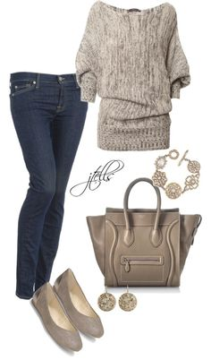 cute and comfy! I like everything but the purse!