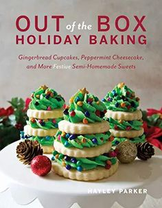 Amazon.com : holiday baking cookbook Peppermint Cupcakes, Peppermint Cheesecake, Homemade Sweets, Homemade Chocolate, White Chocolate, Chocolate Hazelnut, Eggnog Fudge, Red Velvet Whoopie Pies, Biscuits