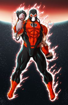 Mind blowing art of characters from comics, movies/tv, & video games! Dc Comics Vs Marvel, Marvel Comic Books, Comic Books Art, Comic Art, Book Art, Comic Villains, Dc Comics Characters, Bane, Red Lantern Corps
