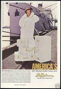 Cyd Charisse Photo Lady Baltimore Luggage (1959)
