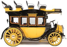1913 THAMES 48-HP MOTOR STAGE COACH