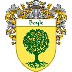Boyle Coat of Arms   namegameshop.com has a wide variety of products with your surname with your coat of arms/family crest, flags and national symbols from England, Ireland, Scotland and Wale