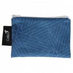 Colibri - Small Reusable Bag - Blue Circles Eco Kids, Sandwich Bags, Snack Bags, Reusable Bags, Blue Bags, Circles