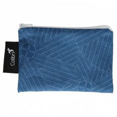 Colibri - Small Reusable Bag - Blue Circles