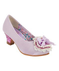 Another great find on #zulily! China Doll Purple Catuona Dress Shoe by China Doll #zulilyfinds