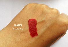Resenha Batom NARS Audacious Audrey - New in Makeup