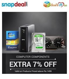 Extra 7% Off on Computer Components