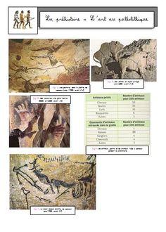 L'art préhistorique: Vénus, dolmens, peintures rupestres, etc...