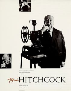 Alfred Hitchcock - poster