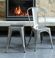 TOLIX Stuhl A - Möbel aus Stahl bei milanari.com