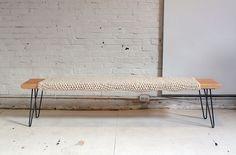 DIY Wood Bench via Brit + Co.