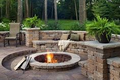 Stylish Paver Patio Design Ideas Backyard Paver Designs Inspired Home Interior Design - Several of the finest advancements and also layout concepts wind up Backyard Patio Designs, Backyard Landscaping, Patio Ideas, Landscaping Ideas, Pavers Ideas, Firepit Ideas, Sloping Backyard, Stone Landscaping, Backyard Seating