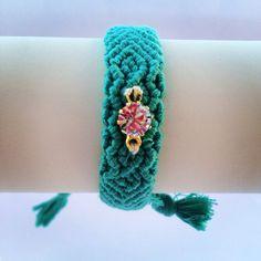 Swarovski turquoise Friendship Bracelet, turquoise friendship bracelet, our Lagoon bracelet