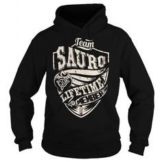 I Love Team SAURO Lifetime Member (Dragon) - Last Name, Surname T-Shirt Shirts & Tees