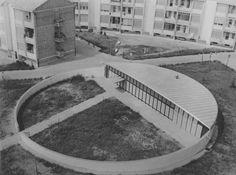 Childrens school Piacenza 1962_Giuseppe Vaccaro