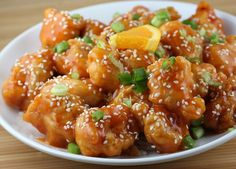 WOW this sesame seed and orange chicken recipe is just astounding and a serious must try