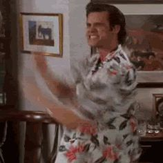 Jim Carrey Oh yeah gif from the movie Ace Ventura clearly brings us a great moment of victory and satisfaction. This reaction gif is great when you win