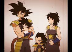 Bardock, Gine, Raditz & Goku - Dragon Ball Z Dragon Ball Z, Bardock Super Saiyan, Dragon Images, Fan Art, Anime Merchandise, Anime Costumes, Anime Shows, Sasuke, Naruto