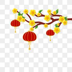 apricot,flower,yellow,lantern,red,lunar,new,year,happy,holiday,traditional,vietnam,vietnamese tet Free Vector Graphics, Vector File, Vector Art, Happy New Year Text, Happy New Year Banner, New Years Background, Red Background, Flower Yellow, Vietnam