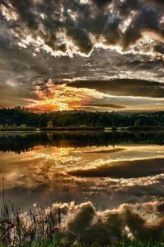 crescentmoon06:  Metallic Sunset | Photo By Nathan Larson