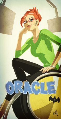 Oracle the True hero by ~kit-kit-kit on deviantART Dc Batgirl, Batwoman, Nightwing, Dc Comics, Comics Girls, Comic Books Art, Comic Art, Book Art, Barbara Gordon Oracle