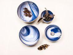 Porcelain Gazing Bowls (Set of 4)