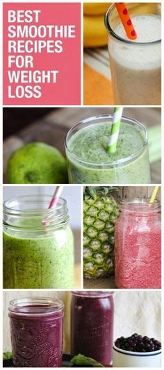 Drop the pounds with these smoothie recipes!