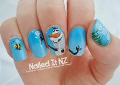 Nailed It NZ: Disney Nail Art #5 - Frozen!