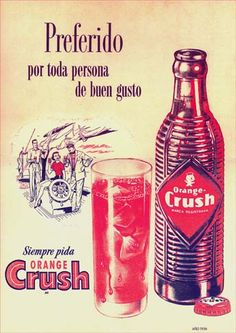 16012 - BEBIDAS - CRUSH - Orange - Preferido por toda persona de