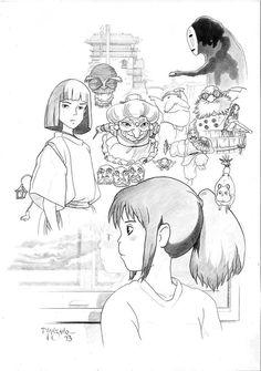 Miyazaki, Spirited Away