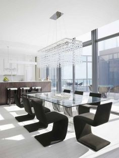 South Beach Condo Dining Room