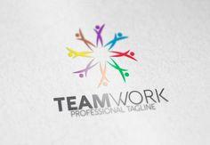 Teamwork Logo by eSSeGraphic on Creative Market
