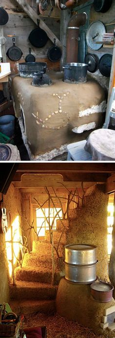 """Brian """"Ziggy"""" Lilaia decidiu que construíria uma casa utilizando apenas produtos naturais, da localidade e gastando menos possível. A Cob House foi construída por seu dono e alguns amigos durante 9 meses, com custo de cerca de 8 mil reais e é formada basicamente de barro, madeira, pedras, areia e fibras.      ..."""