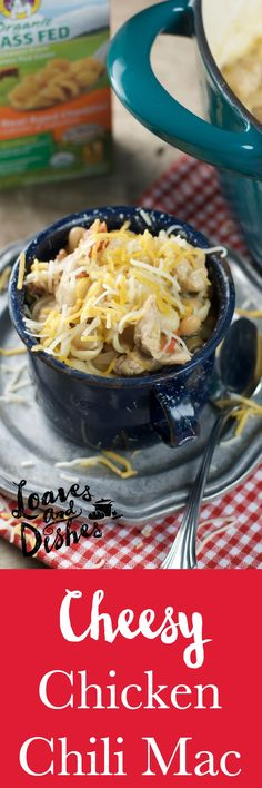 weeknight one pot, dump it all in comfort food meal. Chicken Chili ...