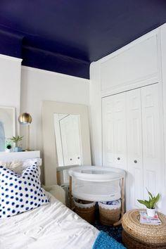 Small space nursery// room sharing
