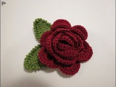 Today we are going to look a t a wonderful tutorial that is going to teach us to crochet a beautiful rose alongside with the leave. You have probably seen a lot of various rose tutorials before, however I believe that this one is none less than the other ones and probably a lot better… Read More Crochet Rose with Leaves